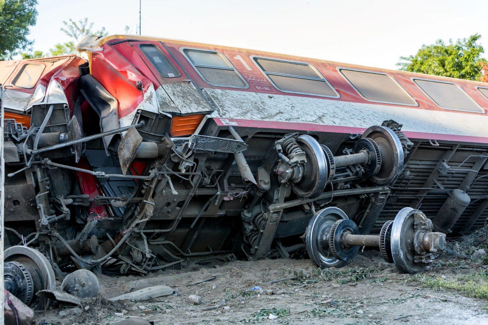 Emergency Services Personnel - Train Derailment